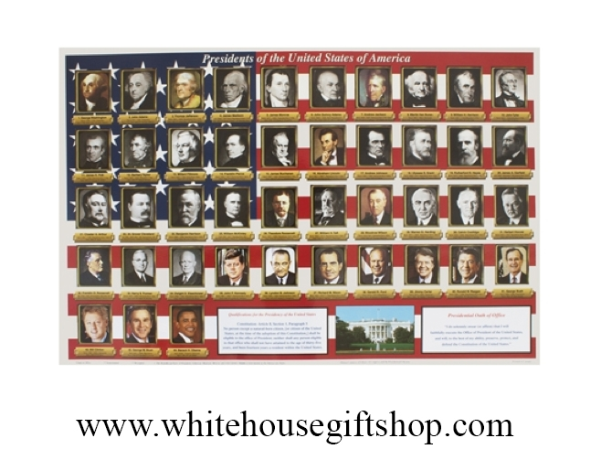 Presidents of the united states all presidents placemat for Presidents and their home states