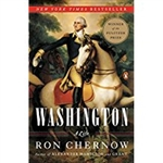 Washington A Life, BY RON CHERNOW, Pulitzer Prize winning,SOFT COVER BOOK from Presidential Book collection of The White House Gift Shop with gold foil seal on back cover