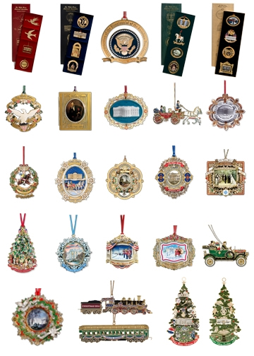 White House Historical Association Ornament Collection · Larger Photo Email  A Friend - The Complete White House Historical Ornament Collection, 1981 To 2015