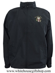Quality President Seal Windbreaker Jacket from White House Gift Shop by Presidential Memorandum