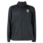 President Seal Windbreaker Men's Jacket, Black