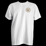 The White House Seal of the President White T-Shirt from the Official White House Gift Shop Apparel Gifts Collection is Made in the USA by American Textile Workers