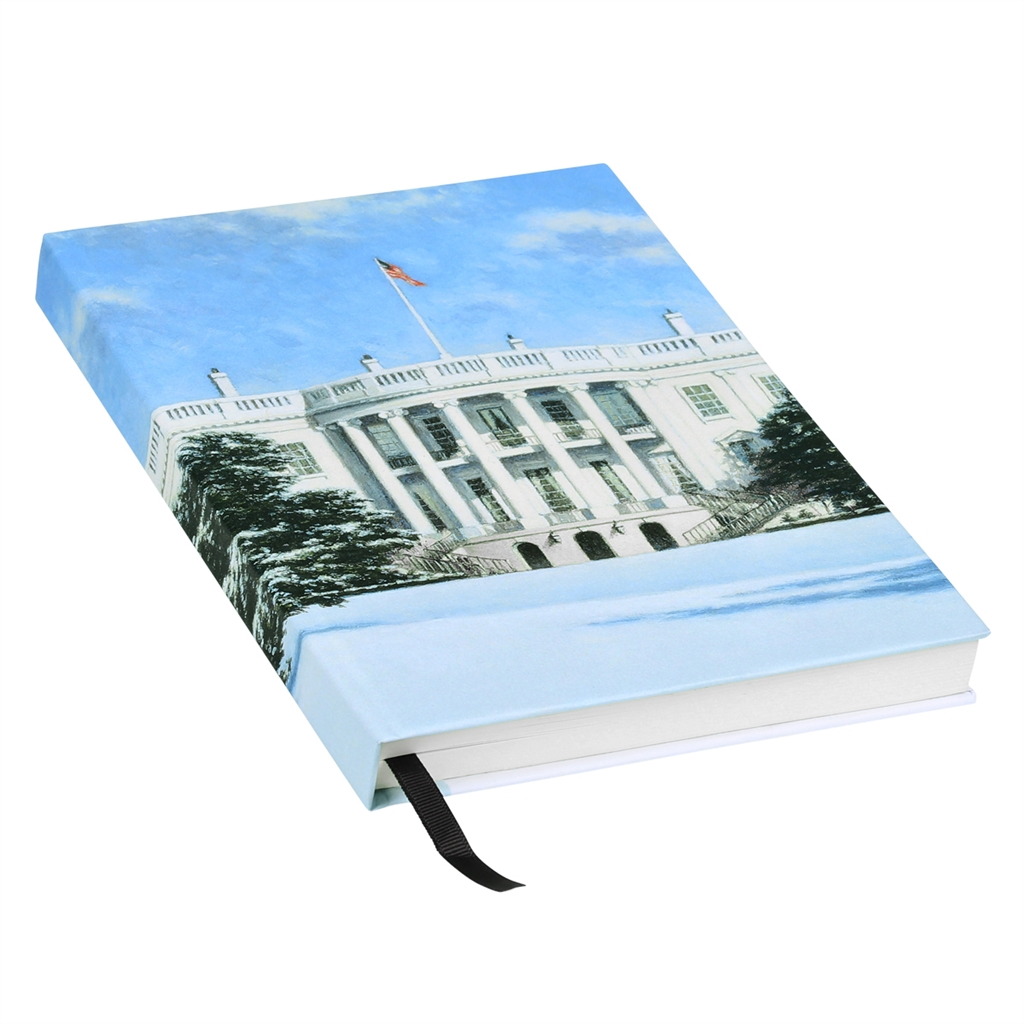 Winter painting pages - White House Journal With Seal Of The President From The White House Gift Shop