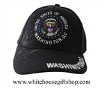 Great Seal of the United States, Washington D.C. Hat, Black - Imported