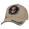 Seal of the President Khaki Hat and Cap from the Official White House Gift Shop