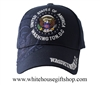 Presidential Seal of the United States , Washington D.C., Hat, Navy - Imported