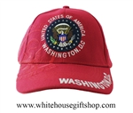 Baseball Style White House Red Hat