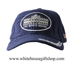 Baseball Style White House Blue Hat