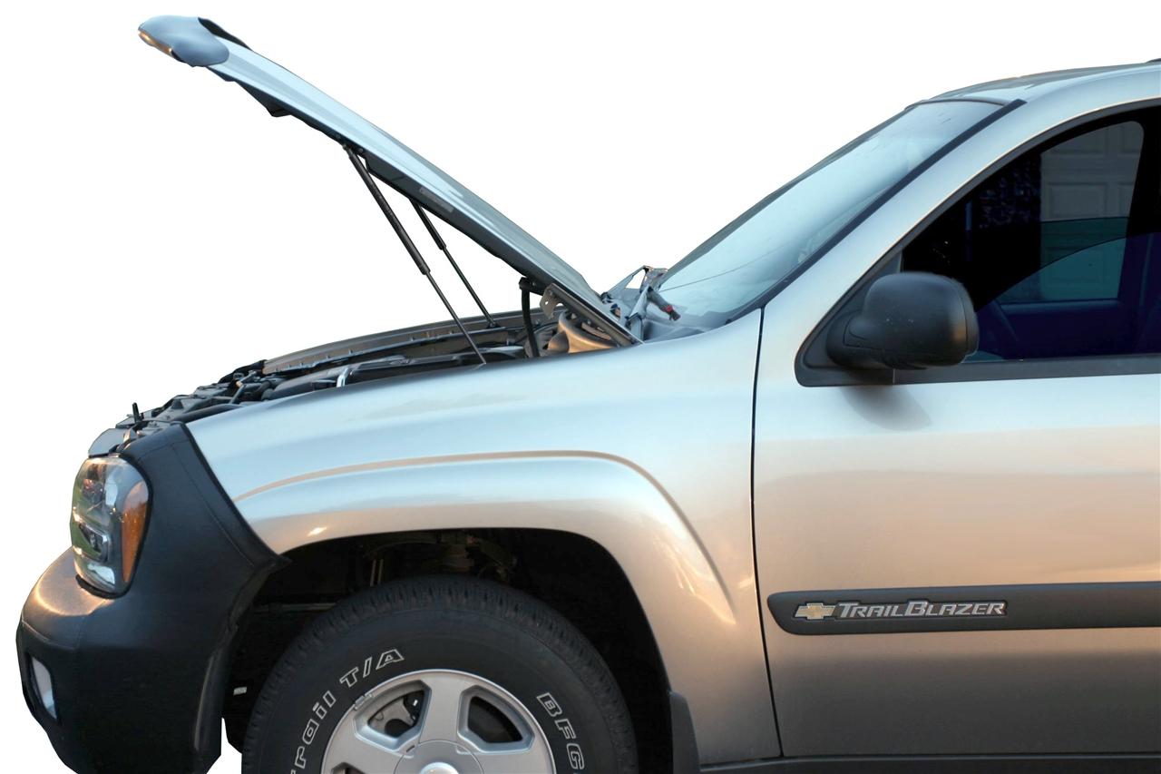 2002 2009 chevy trailblazer hood quicklift plus rh redlinetuning com 2007 GMC Envoy Passenger Mirror 2007 GMC Envoy Passenger Mirror