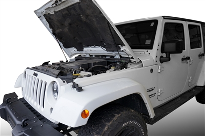 Redline Tuning 2007-2017 Jeep Wrangler Hood QuickLIFT PLUS (V2) - Bolt-in System