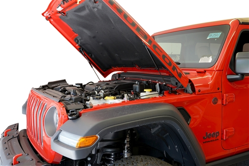 2018+ Jeep Wrangler JL Hood QuickLIFT PLUS - Bolt-in System