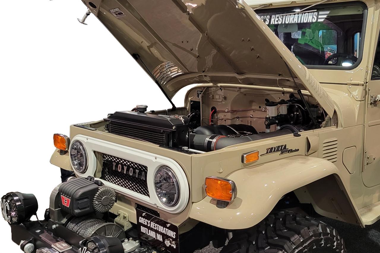 1963 1982 Toyota Land Cruiser Fj40 Hood Quicklift Plus