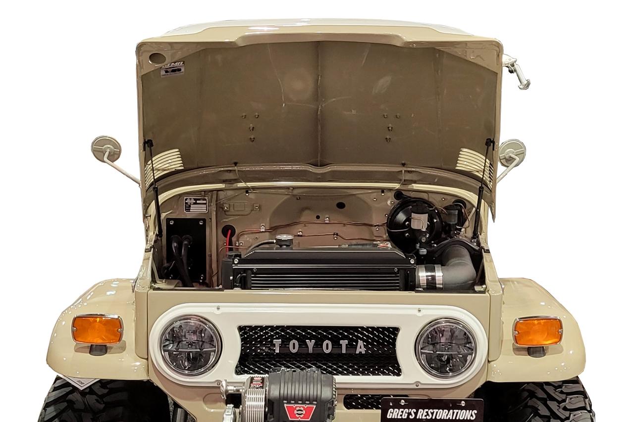 1963-1982 Toyota Land Cruiser FJ40 Hood QuickLIFT ELITE