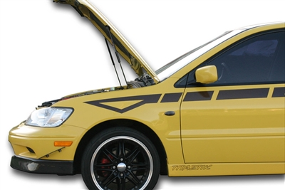 Redline Tuning 2002-2007 Mitsubishi Lancer Hood QuickLIFT PLUS (Not EVO)