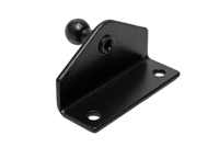 Mounting Bracket with 10mm Ball-stud - Black (Qty 1)<br>32-00002-R