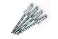 #2 Silver Multi-grip Rivets - (Qty 4)