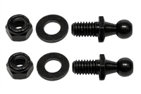 10mm Ball-Stud, Washer & Locknut Assembly (2 Pack)