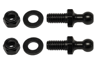 10mm Ball-Stud (360), Washer & Locknut Assembly (2 Pack)