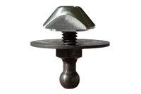 "10mm Ball-Stud, Blind-Insert & 1.5"" Conical Washer - (Qty 1)"