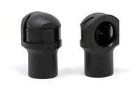 Redline Tuning End-Fitting (ABS) Plastic - Standard (2 Pack)