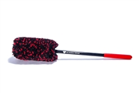 "Wheel Woolies® Detail Brush 18"" Large Red Grip"