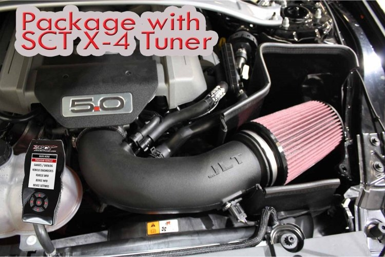 JLT Plastic CAI / SCT X4 Tuner Package (2015 Mustang GT)