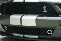 JLT Lower Grille Bezels (Fog Light Replacement), (2007-2009 Ford Mustang Shelby GT500)