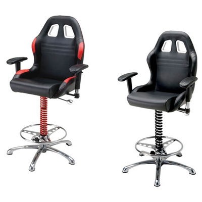 "PitStop Furnitureâ""¢ Crew Chief Bar Chair"