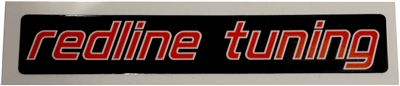 Redline Tuning Logo - TM - Alternate - Black Background