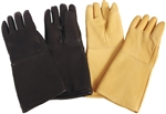 Leather Lead Gloves With Removable Liner