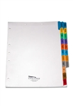 <b>Medical Staff Services Credentialing Tab Divider Set, 19 Preprinted Side Tabs</b>