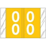 <b>Numeric Label, Laminated, Double Digit Tabbies Compatible</b>