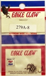 Eagle Claw Salmon Egg Hook Size 8 279A-8