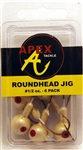Apex Roundhead Jigs 1/2oz AP12-6-5 Off White
