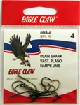 Eagle Claw All-Purpose Hooks Size-#4 Bronze 084A-4