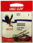 Eagle Claw Bronze Aberdeen Hooks Size-#1 214A-1