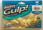 "Berkley Gulp (Saltwater) 2"" Clam GSC2-NW (Natural White)"