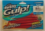 "Berkley Gulp (Saltwater) 6"" Sand Eel GSSE6-BY (Bloody)"