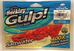 "Berkley Gulp (Saltwater) 1/2"" Sand Crab Flea GSSF1/2-OB (Orange Burn)"
