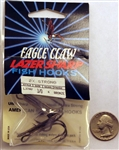 Eagle Claw Lazer Sharp 2X Treble Hooks 3/0 L374V-3/0