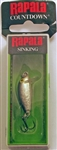 "Rapala CountDown 1"" 1/16oz CD01-S (Silver)"