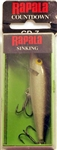 "Rapala CountDown 2-3/4"" 1/4oz CD07-S (Silver)"