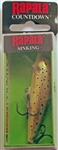 "Rapala CountDown 2-3/4"" 1/4oz CD07-TR (Brown Trout)"