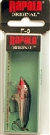 "Rapala Original Floating 1-1/2"" 1/16oz F03-V (Vampire)"