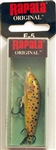 "Rapala Original Floating 2"" 1/16oz F05 TR-(Brown Trout)"