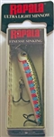 "Rapala Ultra Light Minnow 2-1/2"" 1/8oz ULM06-RT (Rainbow Trout)"