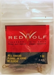 Red Wolf - Bass Casting Dipsey Sinkers - Size 4  1oz RWBCS1