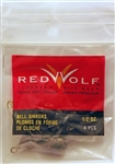 Red Wolf - Bass Casting Dipsey Sinkers - Size 6  1/2oz RWBCS12