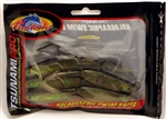 "Tsunami Pro Holographic Swim Baits 5"" 3/8oz Trout Mauler Black Back TM5-3"
