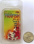 Ric's Panfish Crappie Jig Heads 1/32oz WAH-MH32-1 White